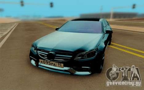 Mercedes-Benz E500 для GTA San Andreas вид сзади