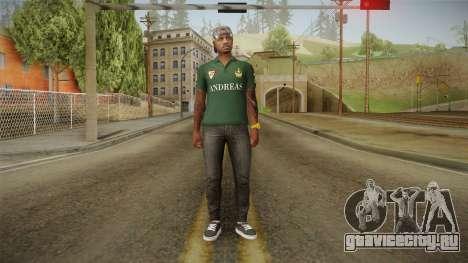 GTA 5 Online Guillermo Skin для GTA San Andreas второй скриншот