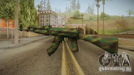 CS: GO AK-47 Jungle Spray Skin для GTA San Andreas второй скриншот
