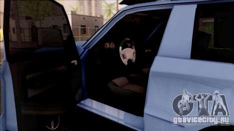 Toyota Meru Off-Road для GTA San Andreas вид изнутри