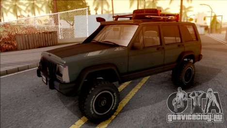Jeep Cherokee 1984 Off-Road для GTA San Andreas