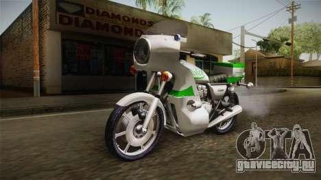 New Police Bike v2 для GTA San Andreas