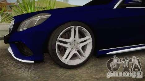 Mercedes-Benz E250 Noyan для GTA San Andreas вид сзади