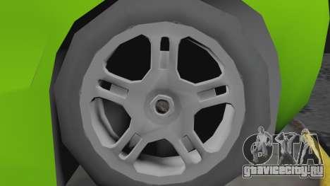 Progen GP1 SA Style для GTA San Andreas вид сзади