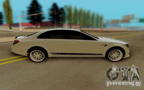 Mercedes-Benz E63 AMG W213 для GTA San Andreas вид слева