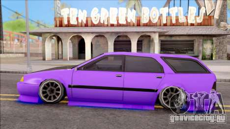 Stratum Stanced With Neon для GTA San Andreas вид слева