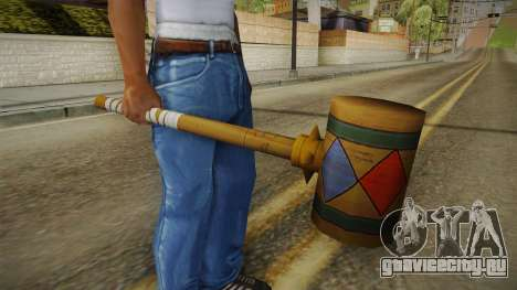 Harley Quinn Hammer для GTA San Andreas третий скриншот