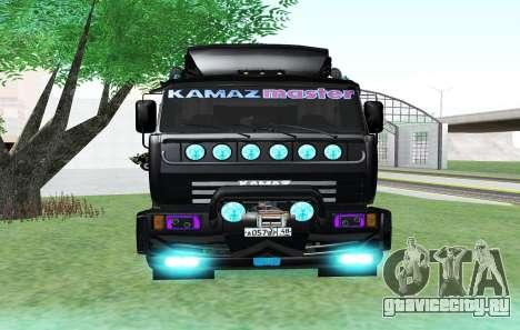 KAMAZ 65115 BLACK NIGHT для GTA San Andreas вид справа