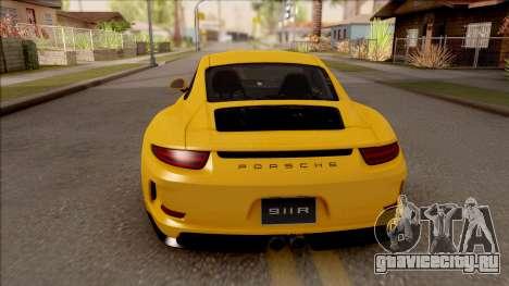 Porsche 911 R для GTA San Andreas вид сзади слева