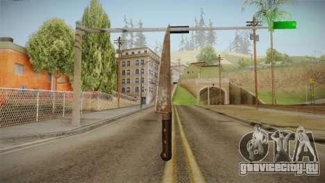 Silent Hill Downpour - Knife SH DP v2 для GTA San Andreas второй скриншот