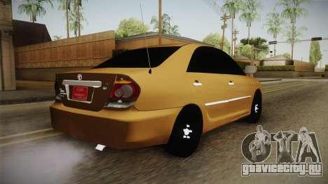 Toyota Camry 2006 для GTA San Andreas