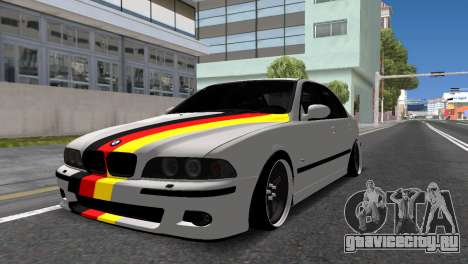 BMW E39 для GTA San Andreas