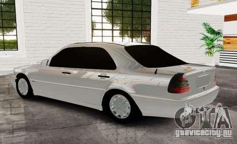 Mercedes Benz с180 для GTA 4 вид слева