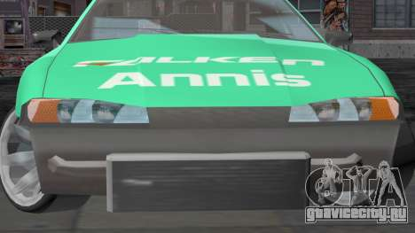 Annis Elegy RH-7 для GTA San Andreas вид сзади