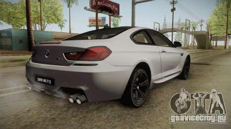 BMW M6 Coupe (F13) для GTA San Andreas вид слева