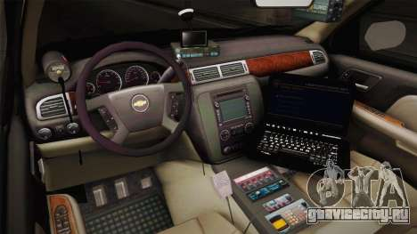 Chevrolet Tahoe 2013 Police для GTA San Andreas