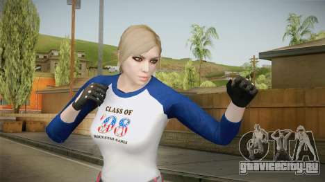 Gun Running Female Skin для GTA San Andreas