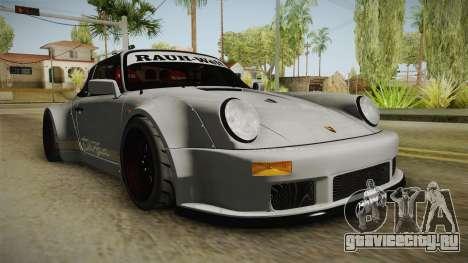 Porsche 911 RWB Terror 1982 для GTA San Andreas вид справа