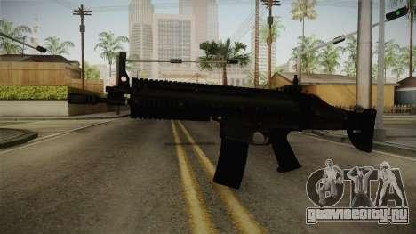 Mirror Edge FN SCAR-L для GTA San Andreas