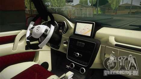 Mercedes-Benz G65 AMG 2013 для GTA San Andreas