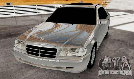 Mercedes Benz с180 для GTA 4 вид справа