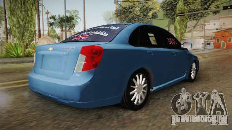 Chevrolet Optra 2010 Hajwala Saudi для GTA San Andreas
