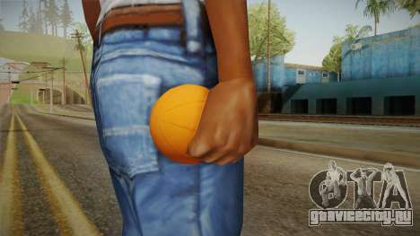 Green Goblin Classic Pumpkin Grenade для GTA San Andreas третий скриншот