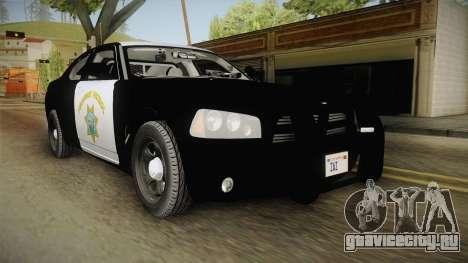 Dodge Charger CHP 2010 для GTA San Andreas