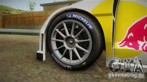 Volkswagen Polo R WRC для GTA San Andreas вид сзади