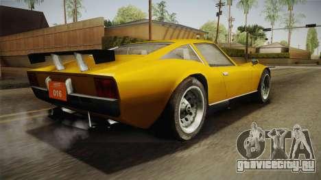 Driver PL - Melizzano для GTA San Andreas вид слева