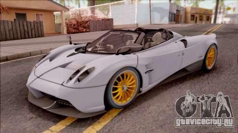 Pagani Huayra Roadster 2017 для GTA San Andreas