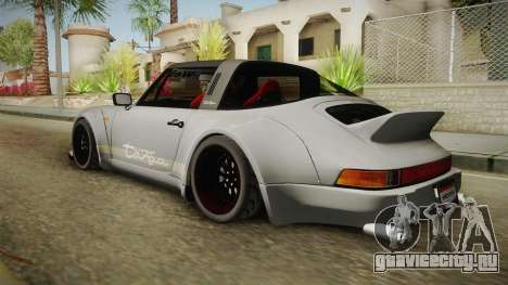 Porsche 911 RWB Terror 1982 для GTA San Andreas вид слева