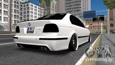 BMW E39 для GTA San Andreas вид слева