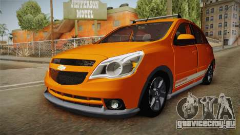 Chevrolet Agile Crossport Edition для GTA San Andreas вид справа