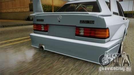 Mercedes-Benz W201 190E для GTA San Andreas вид сбоку