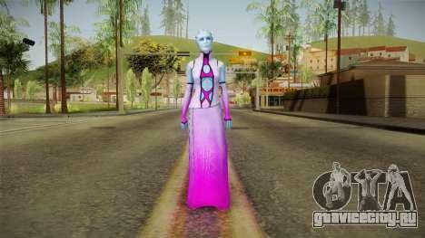 Mass Effect 3 Shaira Dress для GTA San Andreas второй скриншот
