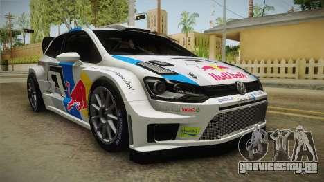 Volkswagen Polo R WRC для GTA San Andreas