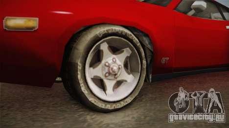 Driver PL - Cerrano для GTA San Andreas вид сзади