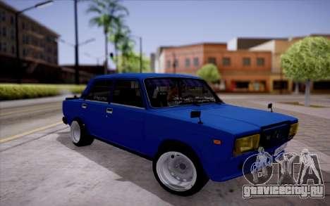 ВАЗ 2107 БК для GTA San Andreas