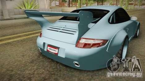 Porsche 997 Old & New 2008 для GTA San Andreas вид сбоку