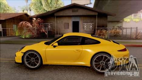 Porsche 911 R для GTA San Andreas вид слева