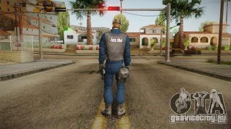 Turkish Police-Rapid Response Unit with Gasmask для GTA San Andreas третий скриншот