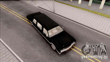 Driver PL Chauffeur для GTA San Andreas вид справа