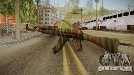 CS: GO AK-47 Predator Skin для GTA San Andreas второй скриншот