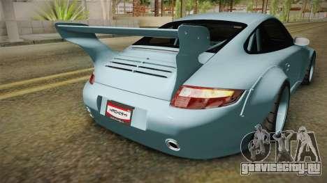 Porsche 997 Old & New 2008 для GTA San Andreas вид сверху