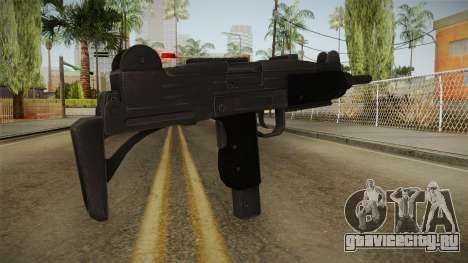 Battlefield Hardline Uzi для GTA San Andreas второй скриншот
