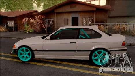 BMW M3 E36 Drift v2 для GTA San Andreas вид слева