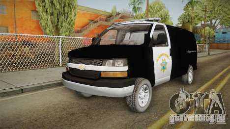 Chevrolet Express CHp для GTA San Andreas