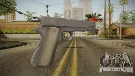 Mirror Edge Colt M1911 v2 для GTA San Andreas второй скриншот