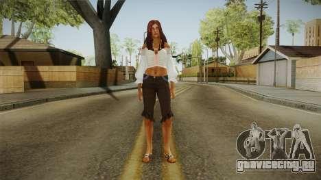 Zantanna Skin v2 для GTA San Andreas второй скриншот